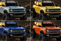 redesign and concept 2022 ford svt bronco raptor