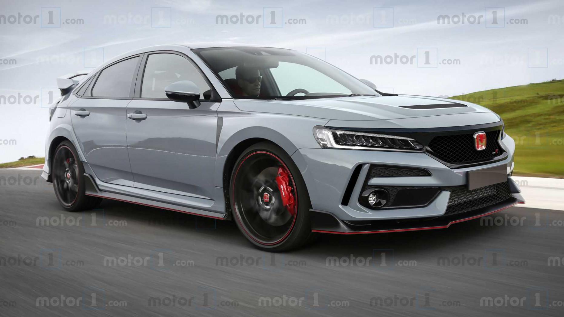 Spy Shoot 2022 Honda Civic Si