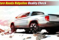 redesign and concept 2022 honda ridgelineand