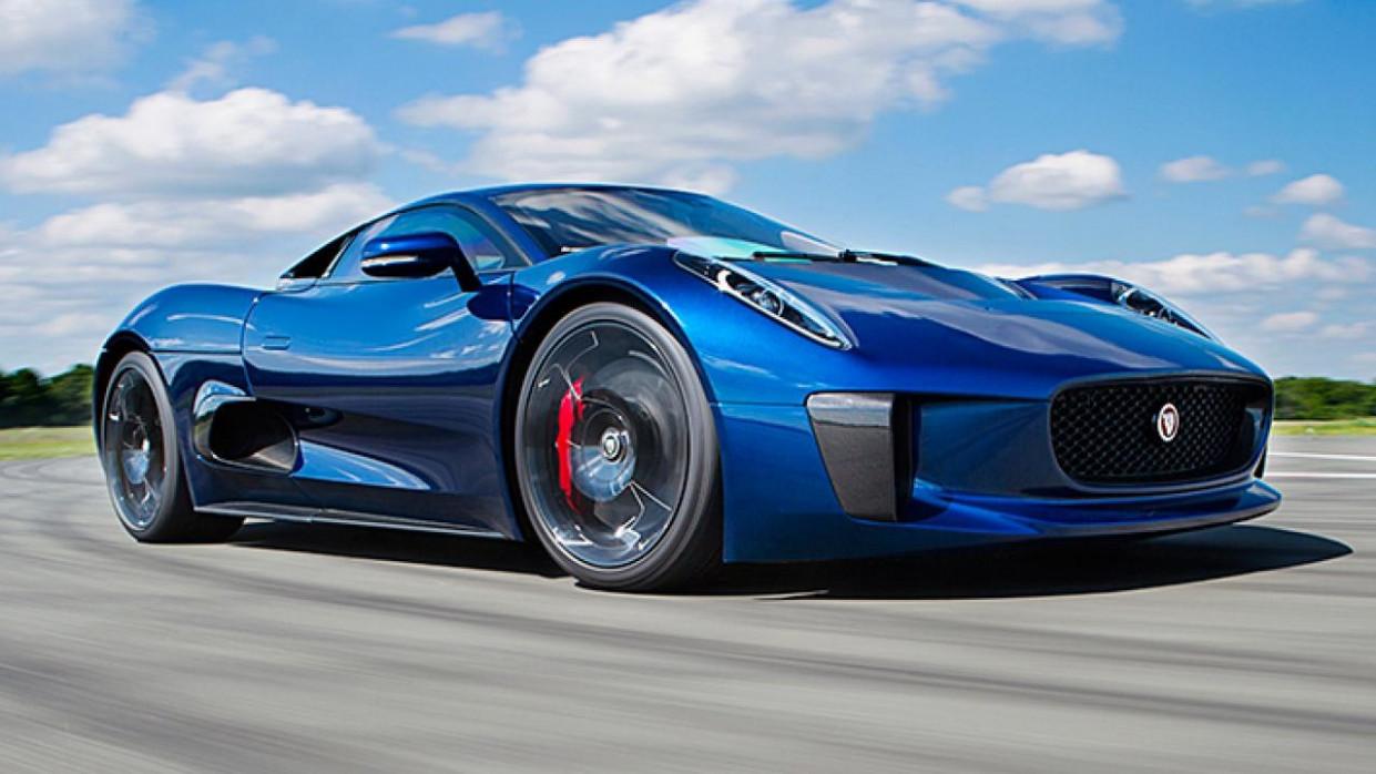 Interior 2022 Jaguar F-Type