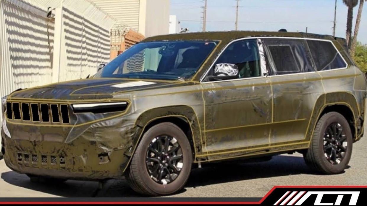 Spy Shoot 2022 Jeep Grand Cherokee Srt8