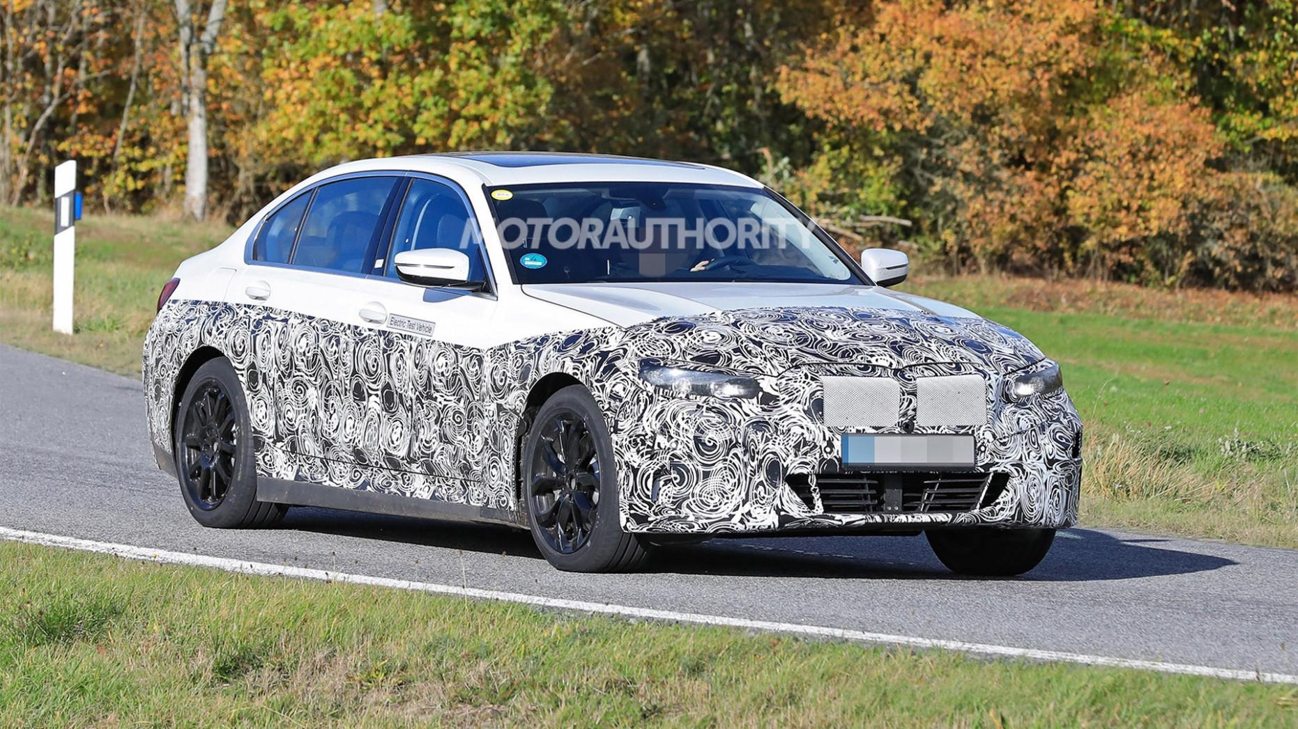Interior 2022 Spy Shots BMW 3 Series