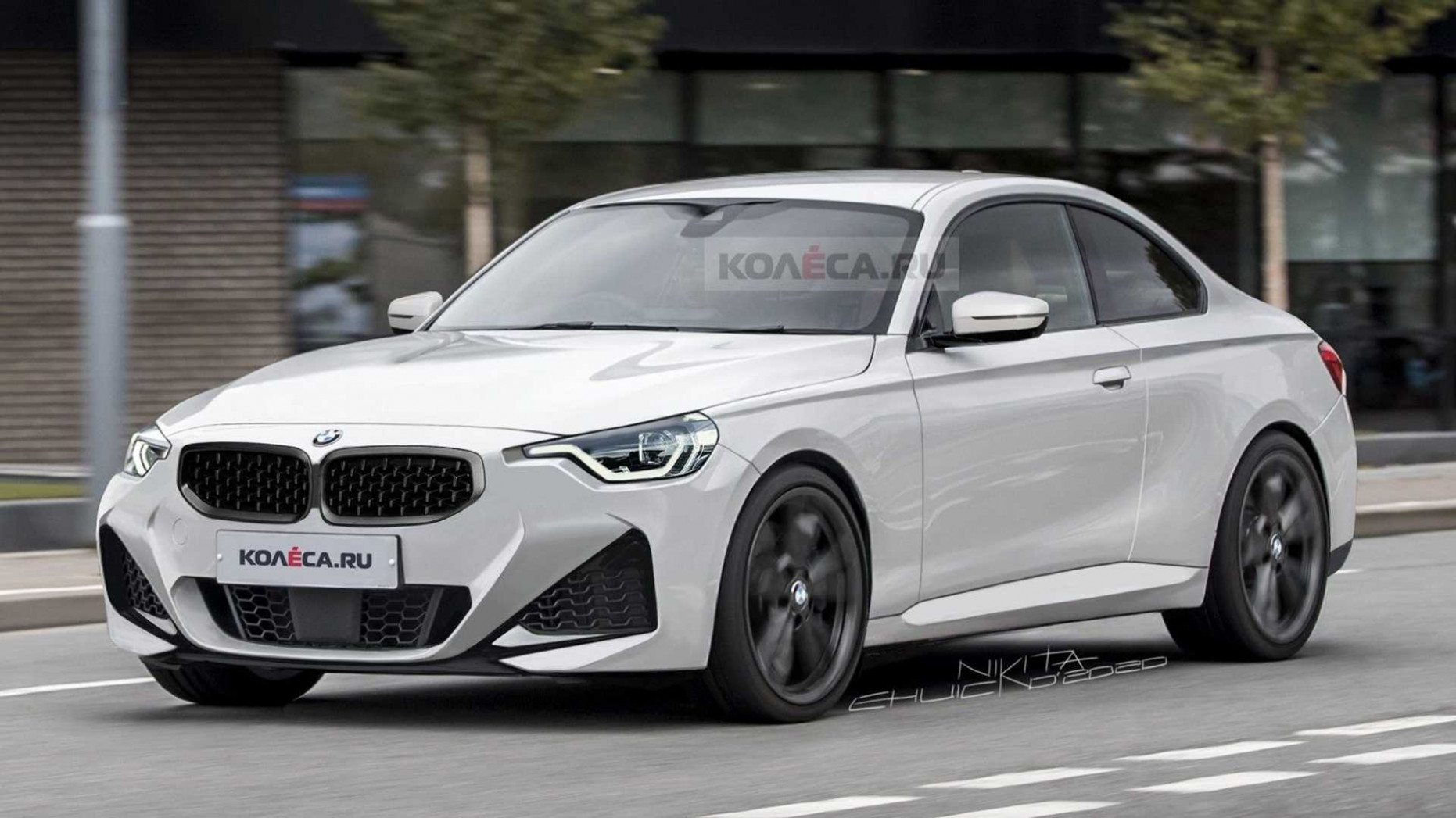 Picture 2022 Spy Shots BMW 3 Series