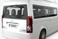 redesign and concept 2022 toyota hiace