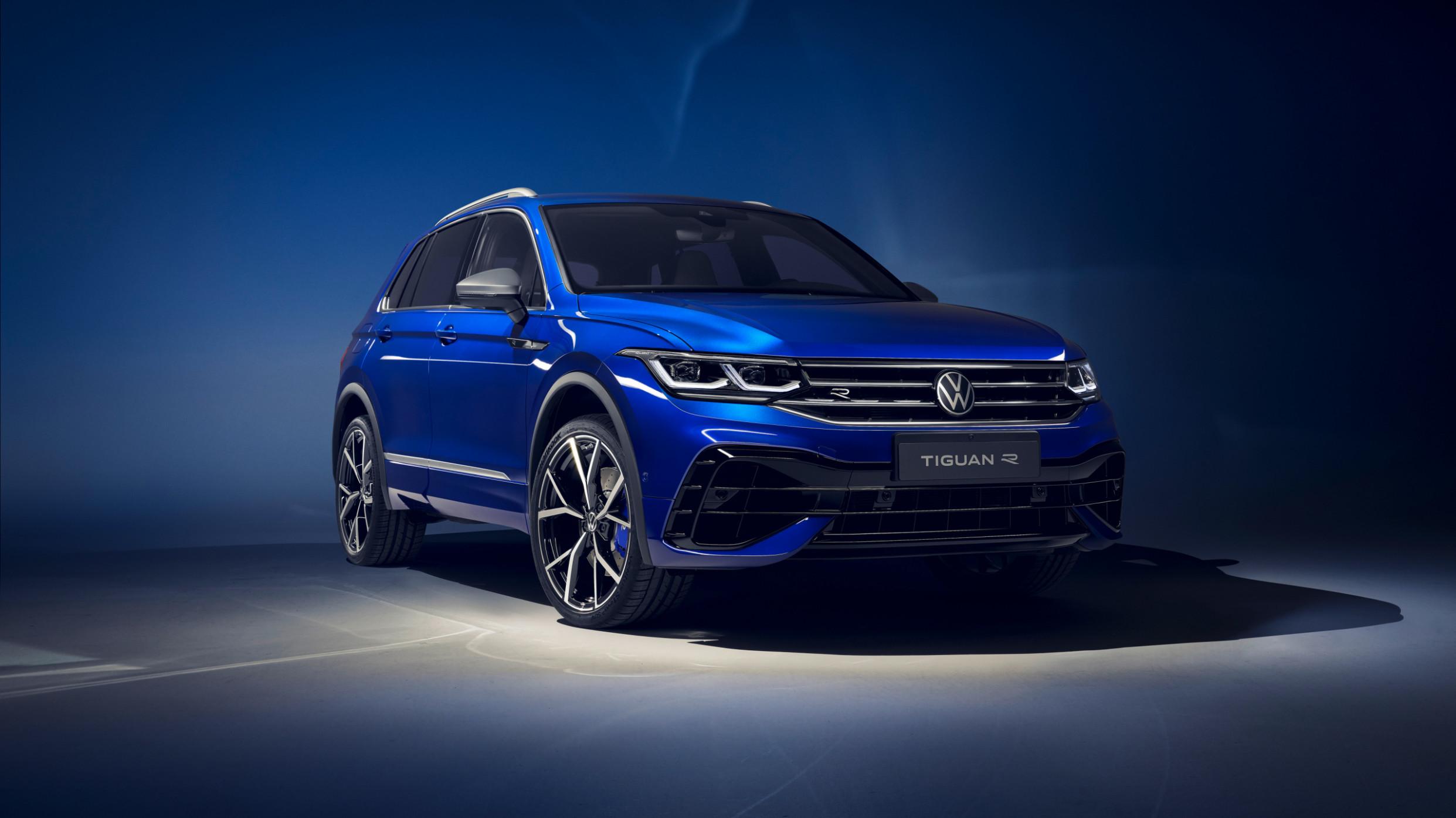 Exterior and Interior 2022 VW Tiguan