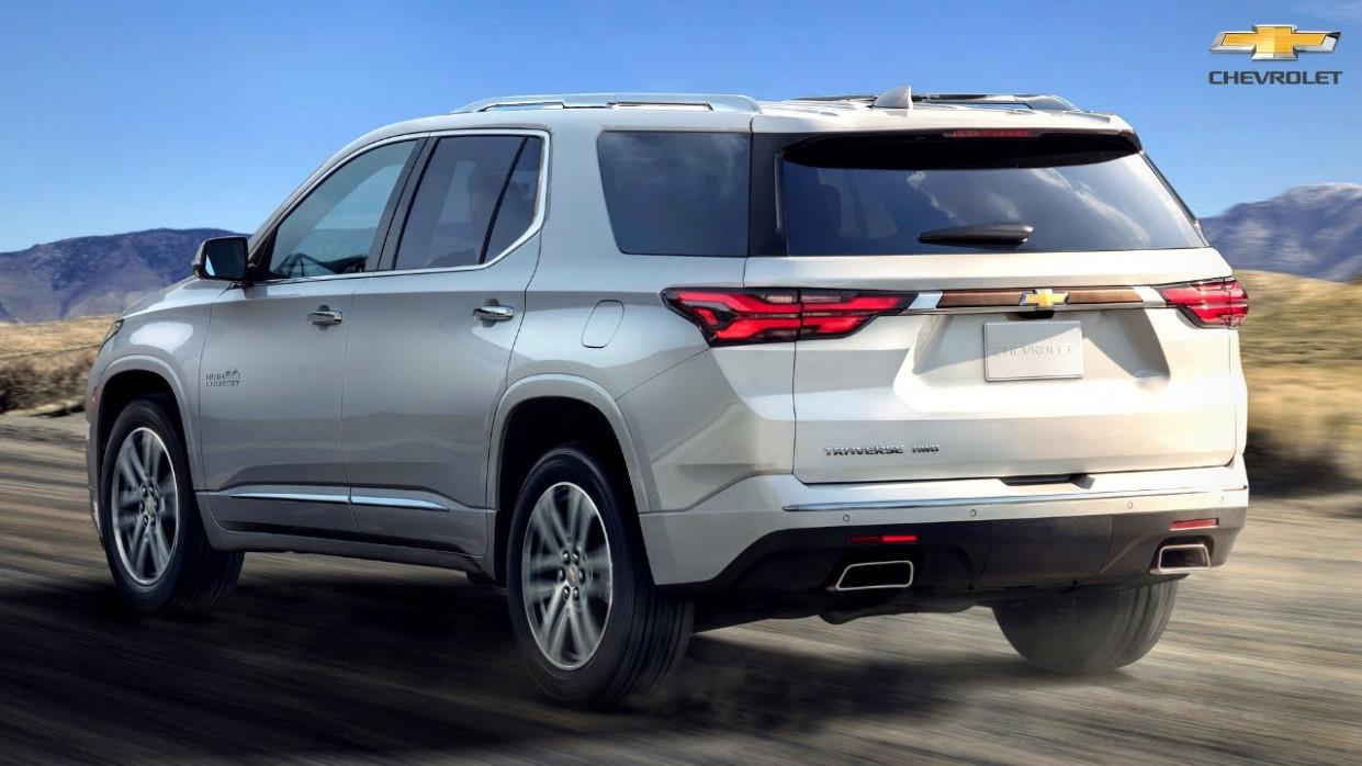 Speed Test Chevrolet Traverse 2022