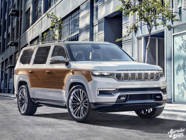 Interior Jeep Grand Cherokee 2022 Concept