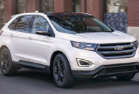 redesign and review 2022 ford edge new design
