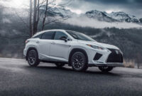 redesign and review 2022 lexus rx 350 f sport suv