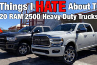 Redesign And Review 2022 Ram 2500 Diesel