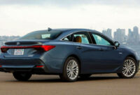 redesign and review 2022 toyota avalon