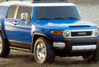 redesign and review 2022 toyota fj cruiser