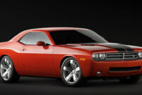 redesign and review dodge challenger concept 2022