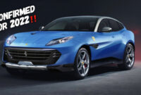 redesign and review new ferrari 2022