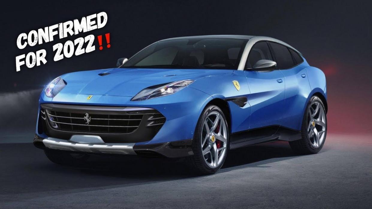 Configurations New Ferrari 2022