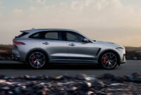 redesign and review new jaguar f pace 2022