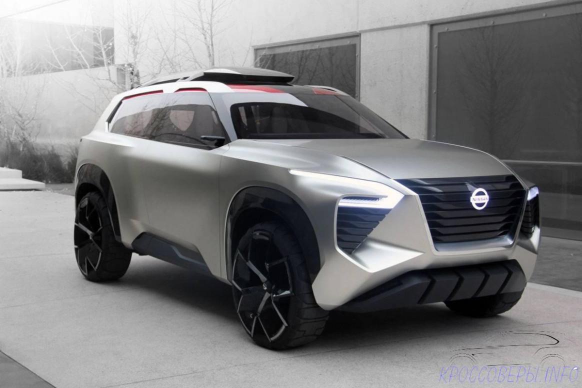 Spy Shoot Nissan Xmotion 2022