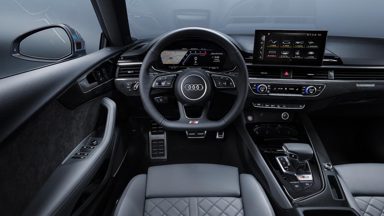 Spesification Audi A5 2022 Interior