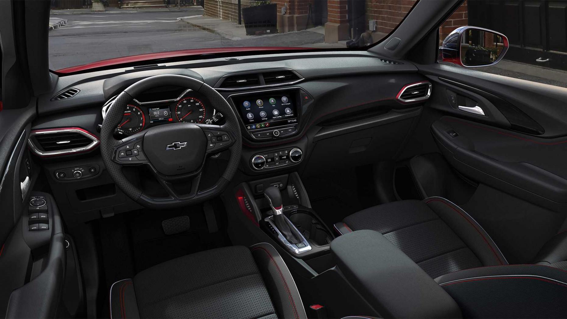 Spesification Chevrolet Blazer 2022 Interior