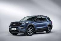 redesign ford explorer st 2022
