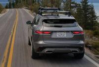 redesign jaguar f pace 2022 model