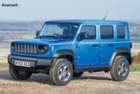 redesign jeep 2022 lineup