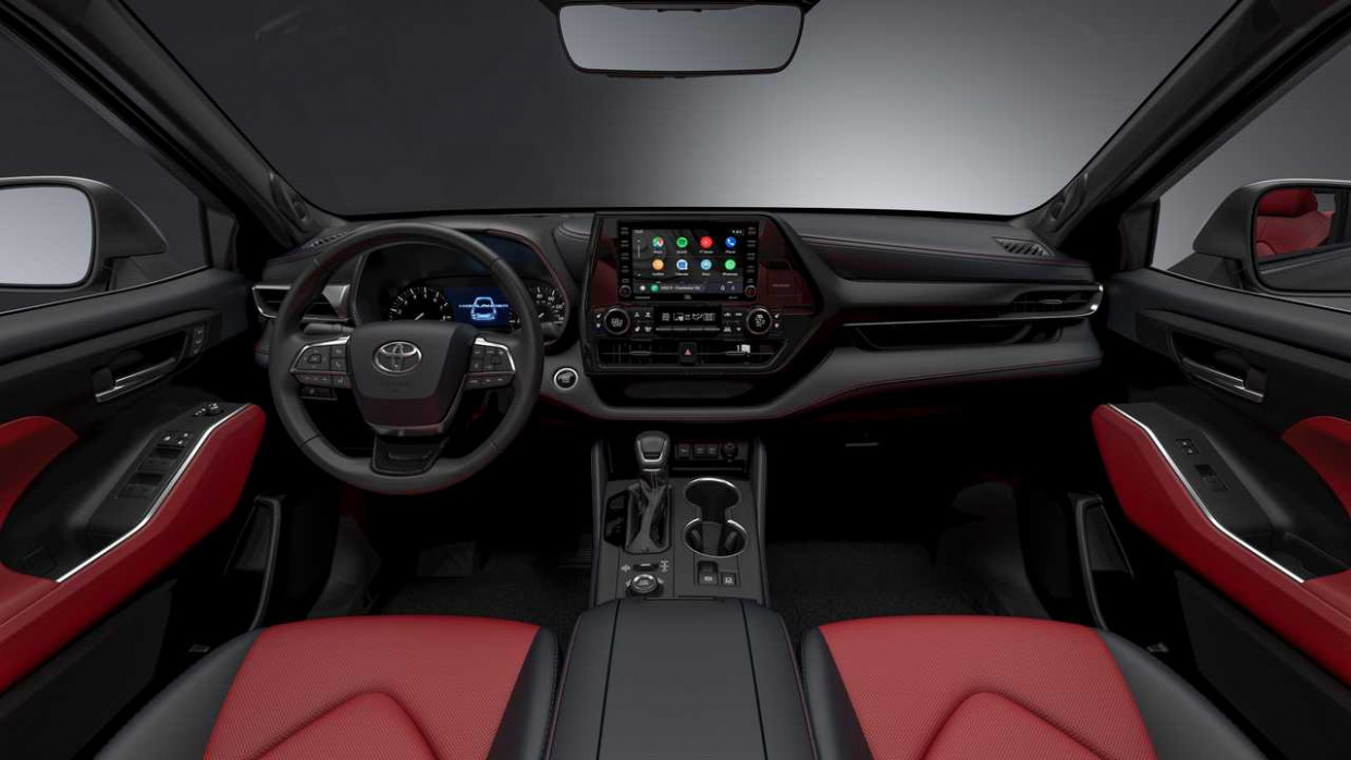 Engine Toyota Highlander 2022 Interior