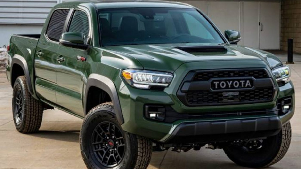Interior Toyota Tacoma 2022 Redesign
