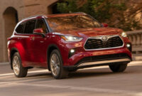 redesign when will 2022 toyota highlander be available