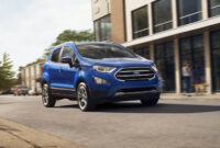 First Drive 2022 Ford Ecosport