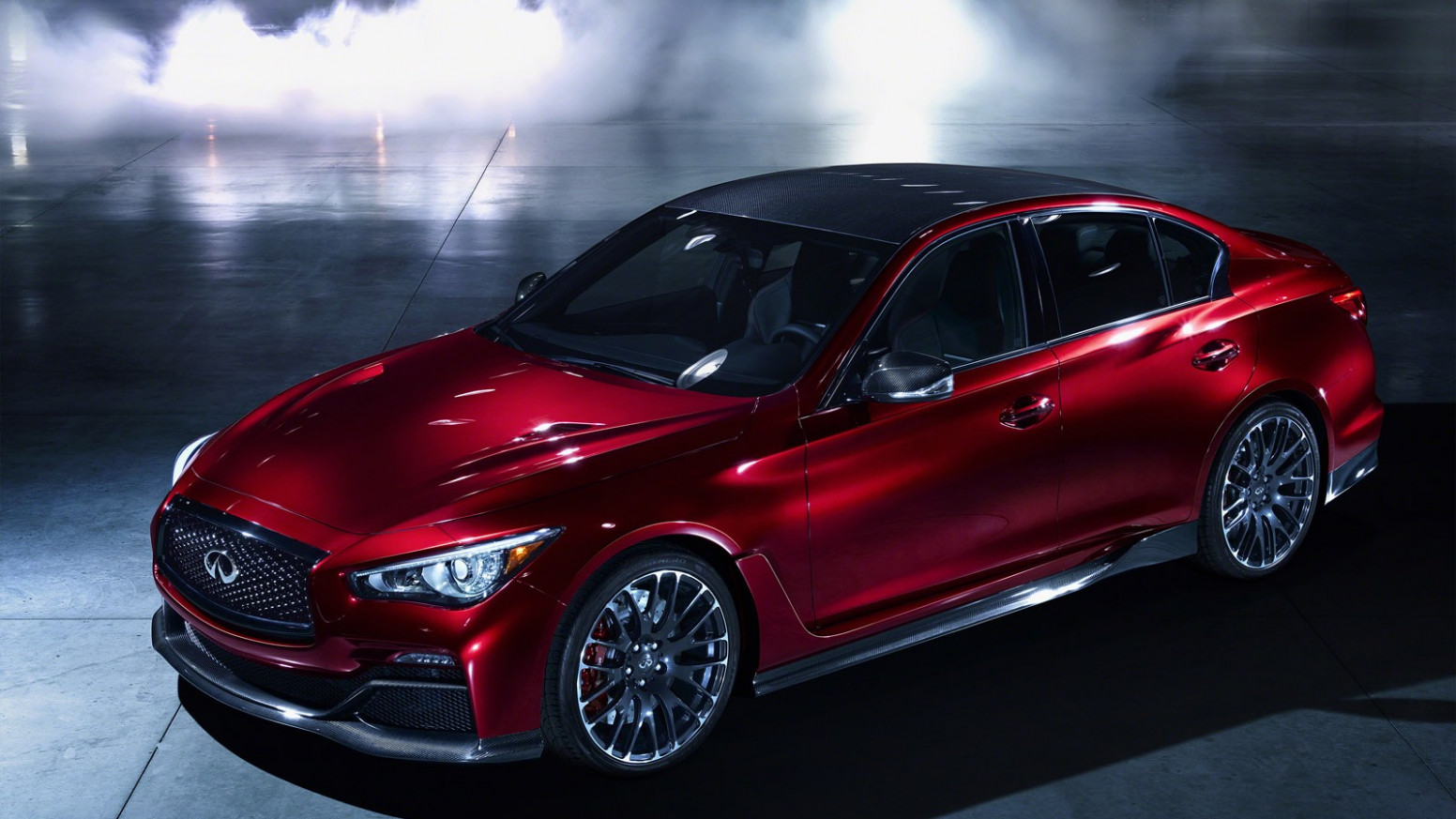 Speed Test 2022 Infiniti Q50 Coupe Eau Rouge