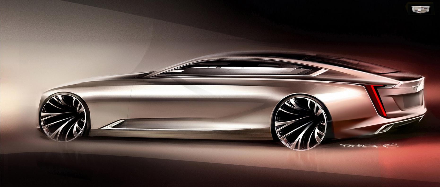 Spy Shoot Cadillac Coupe 2022
