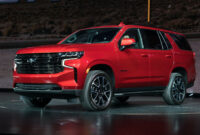 release date 2022 chevy tahoe