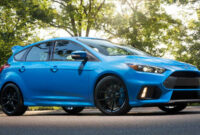 release date 2022 ford focus