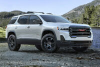 release date 2022 gmc acadia changes