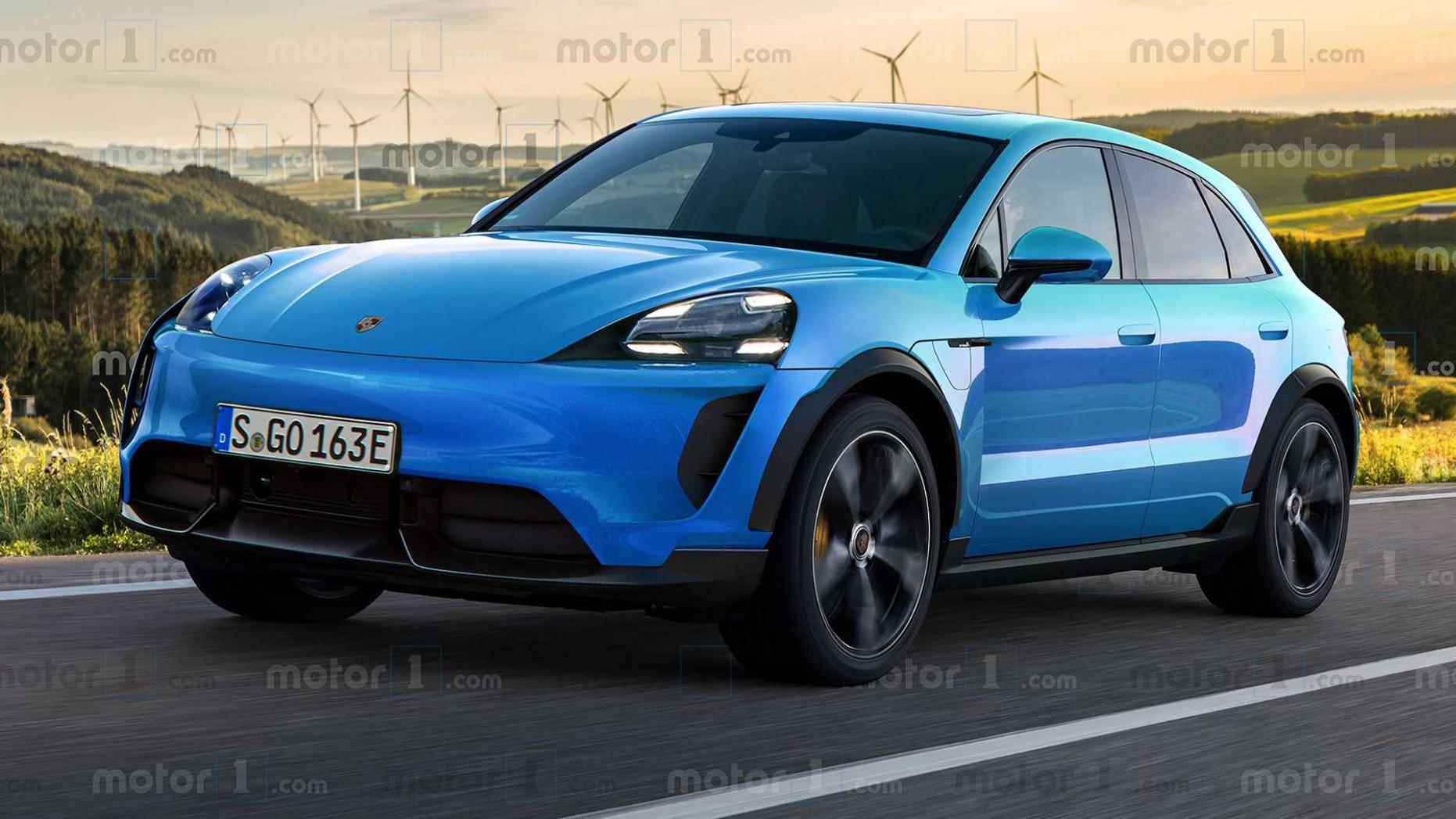 Release 2022 Porsche Macan Turbo