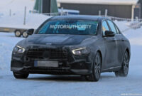 release date 2022 the spy shots mercedes e class