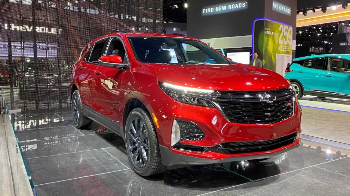 Release 2022 Chevrolet Equinox