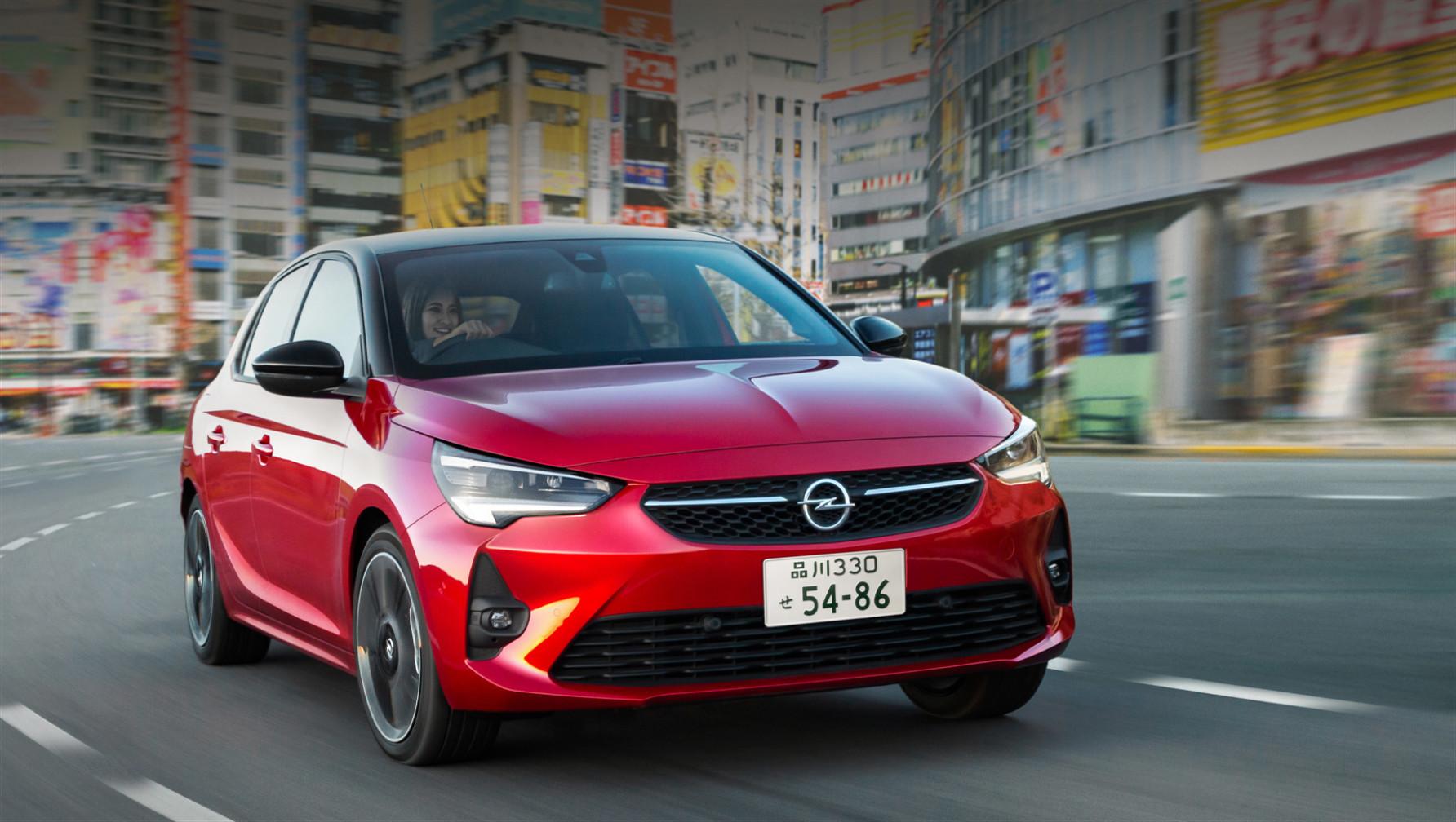 Model 2022 Opel Corsa