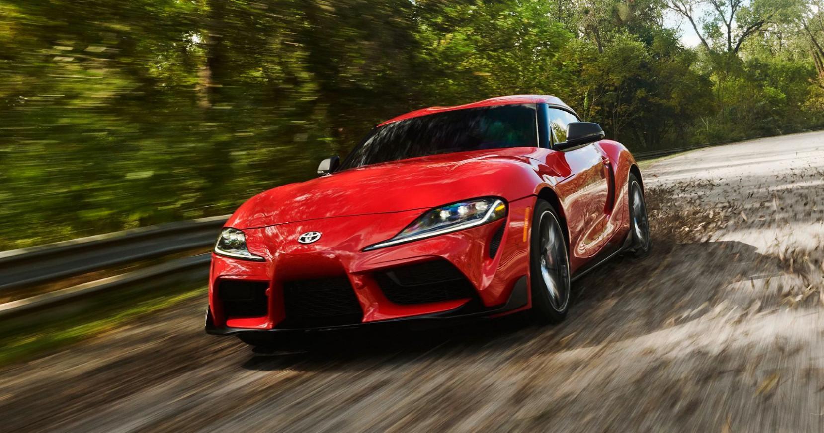Speed Test 2022 Toyota Supra Jalopnik