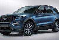 release date and concept ford explorer st 2022