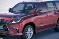 release date and concept lexus gx 460 new model 2022