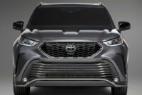 release date and concept toyota highlander 2022 interior