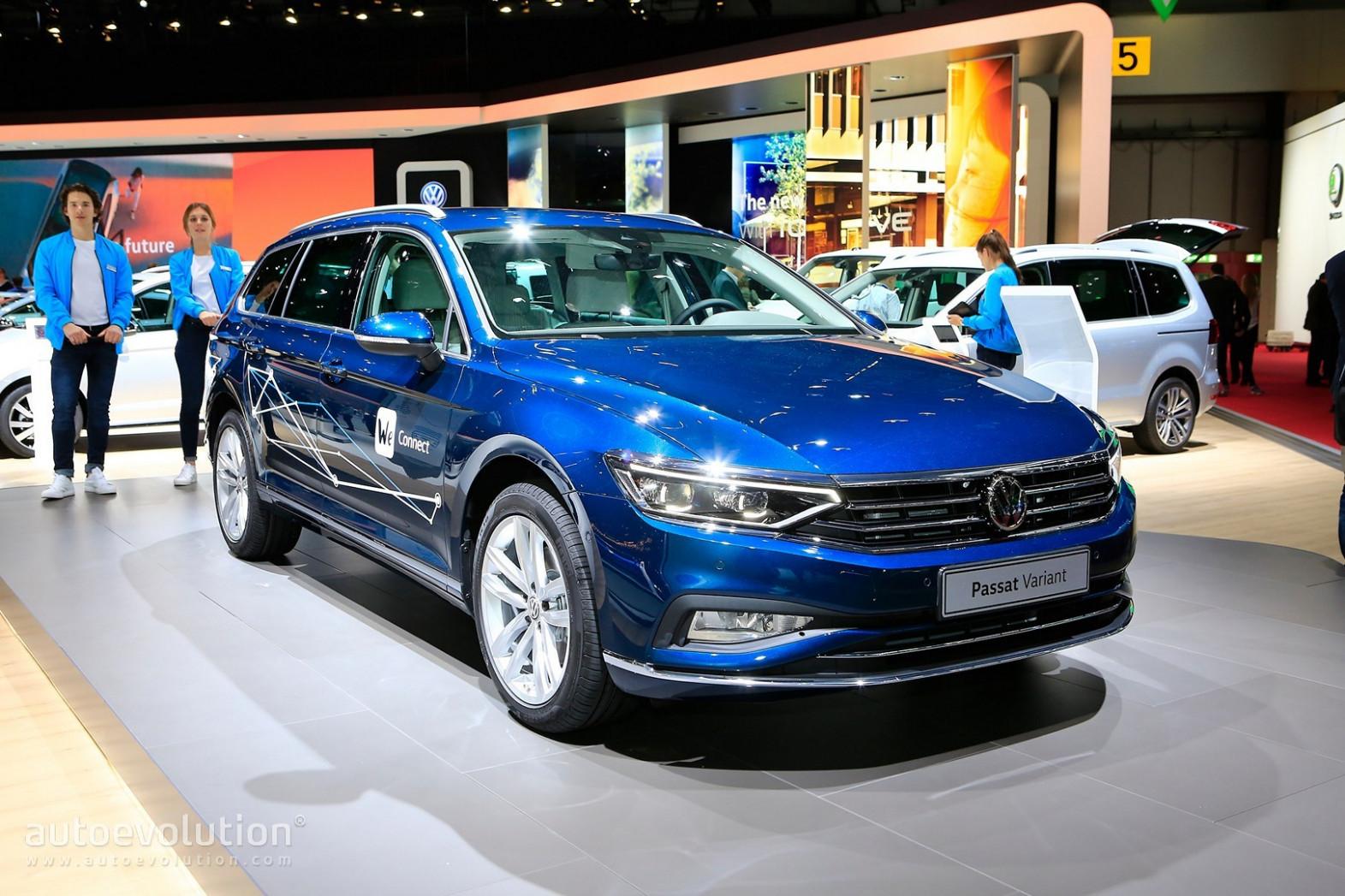 Spy Shoot Volkswagen Passat 2022 Europe