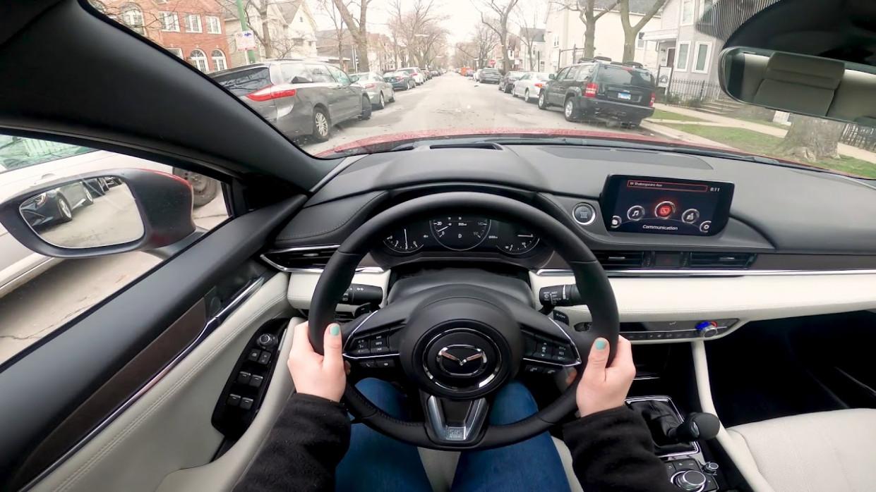 First Drive Mazda 6 2022 Interior