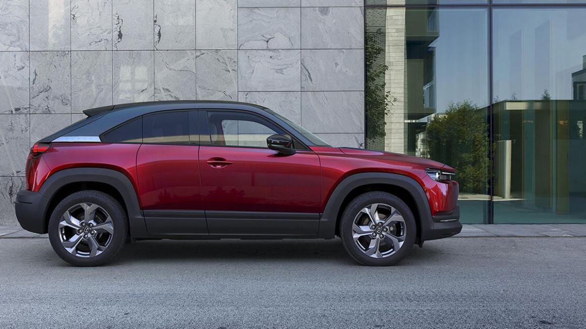 First Drive Mazda Electric Car 2022