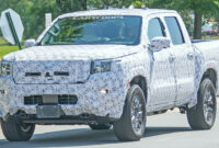 release date pictures of 2022 nissan frontier