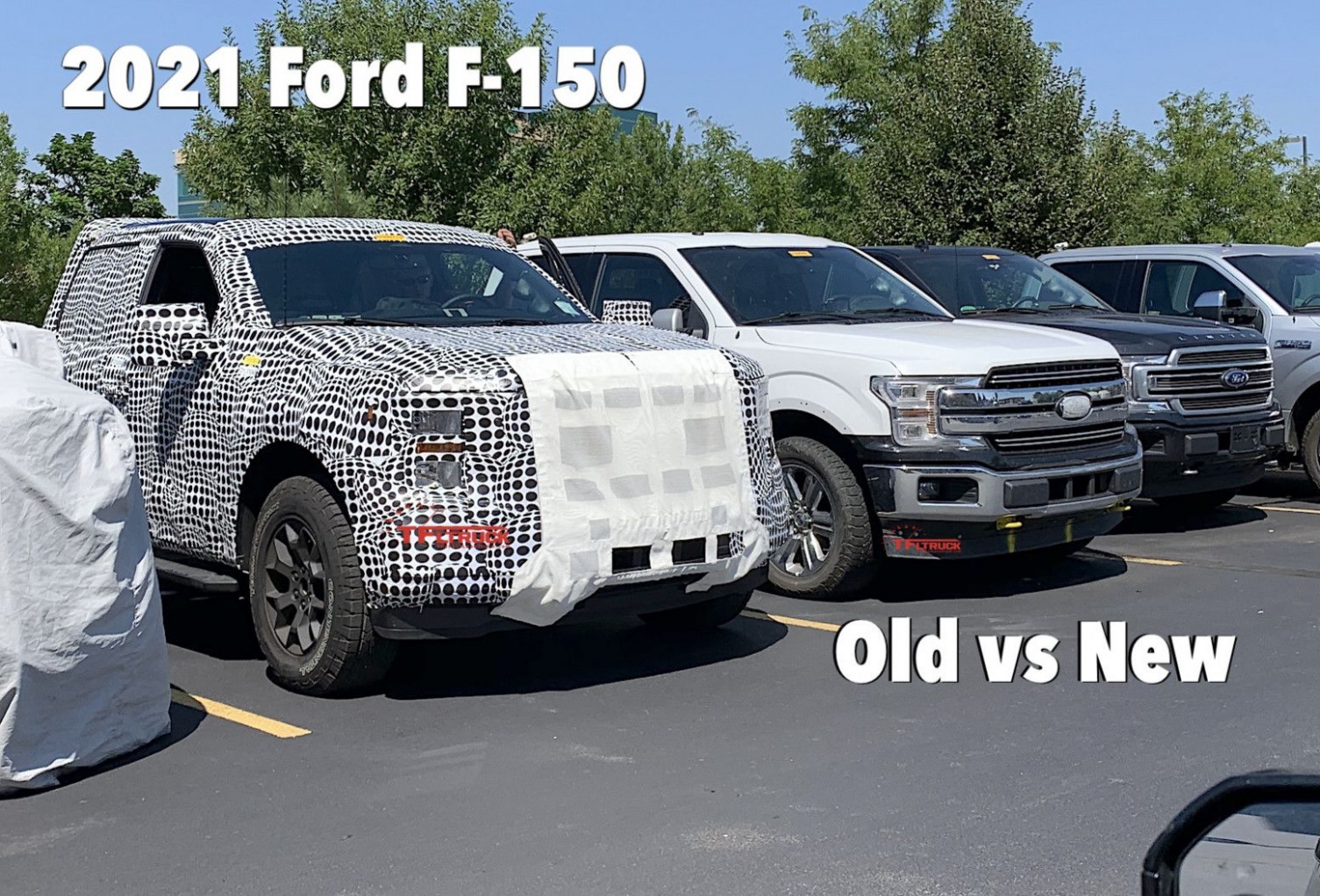 Exterior Spy Shots Ford F350 Diesel