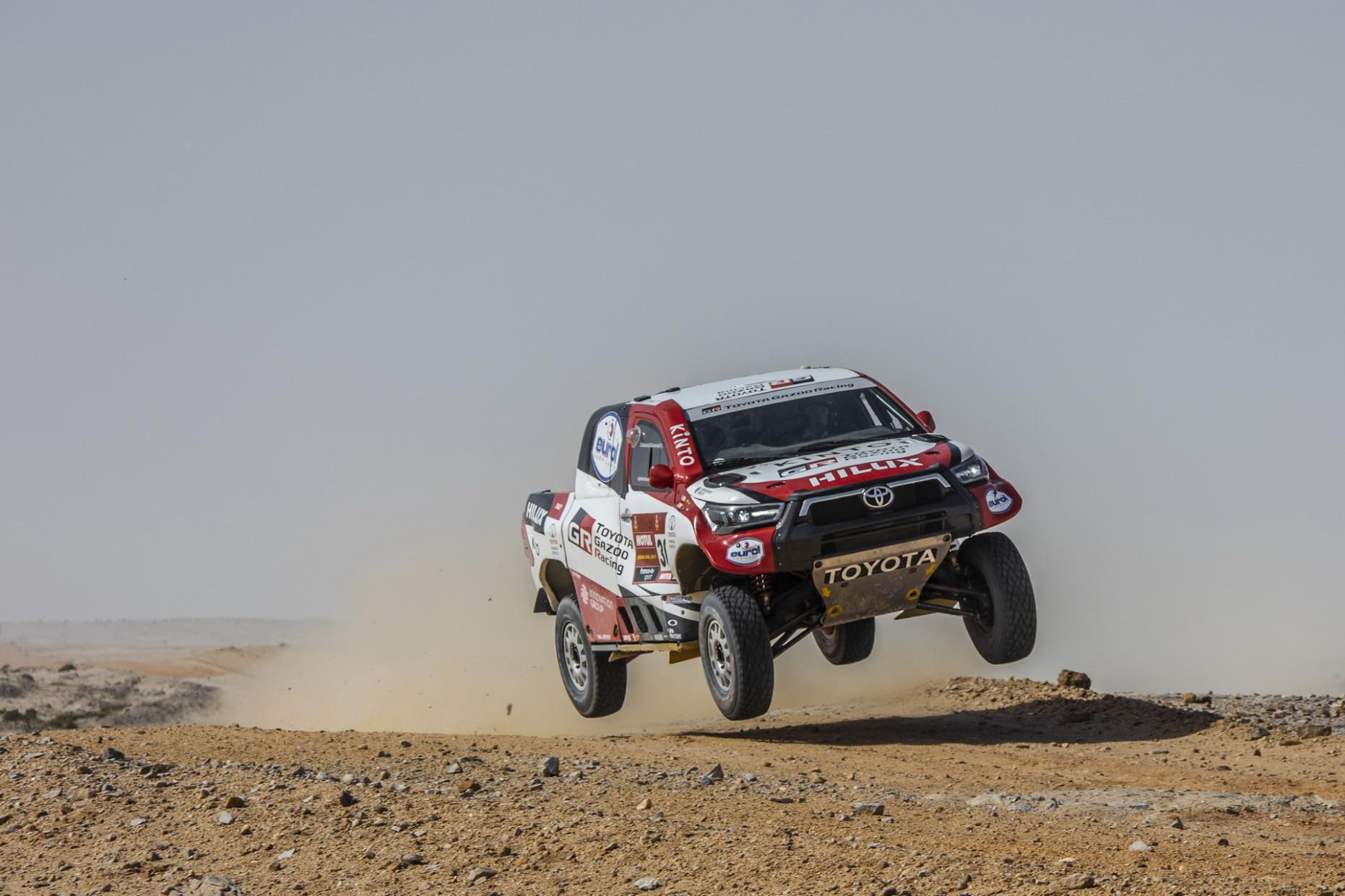 Overview Toyota Dakar 2022