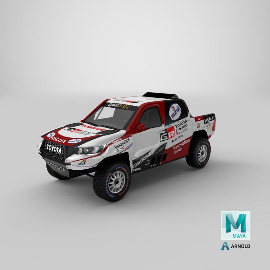 Model Toyota Dakar 2022